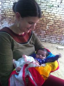 Her beautiful baby girl...